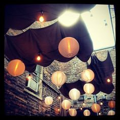 restaurant patio lighting | Restaurant Patio