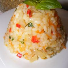 Romanian Food, Rice Dishes, Baby Food Recipes, Risotto, Good Food, Food And Drink, Tasty, Cooking, Ethnic Recipes