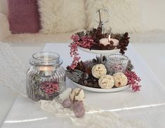 """Dekoideen Living Room Spring Luxury On """"Beautiful With You"""" Show .- Dekoideen Wohnzimmer Frühling Luxus Auf """"schön Bei Dir"""" Zeigen Wir Euch Wie Ih… Dekoideen Living Room Spring Luxury On """"beautiful with you"""" we show you how her an etagere - Christmas Crafts, Christmas Decorations, Holiday Decor, Memorial Day Sales, Décor Boho, Best Interior Design, Decoration Table, Fall Decor, Diy And Crafts"""