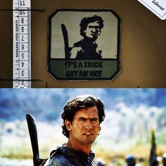 IT'S A TRICK GET AN AXE Army of Darkness - Armata delle Tenebre  #lapatcheria #sith #starwars #moralepatches #patches #patch #militarypatches #toppe