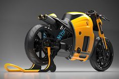 Koenigsegg Motorcycle Concept by Burov Art 3