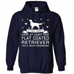 Flat Coated Retriever - #unique gift #gift amor. WANT IT => https://www.sunfrog.com/Pets/Flat-Coated-Retriever-4751-NavyBlue-Hoodie.html?68278