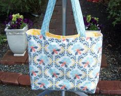 Delightful and Trendy Bees and Honeycomb Tote Bag