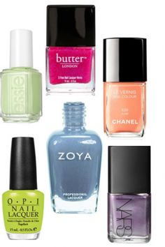 spring 2012-- must get that essie color