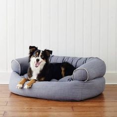Our best-in-class Comfy Pet Couch is crafted as well as sofas designed for people. Ultra-plush, this pet couch offers unsurpassed support that ordinary dog beds can't match. 1-1/2-thick orthopedic foam cushion and lofty spun-polyester fill relieve pressure points and provide support; view diagram Upholstered in colorfast, shrink-resistant polyester in your choice of microvelvet, microlinen or microchenille Microvelvet:Repels pet hair, dirt, bacteria and moistureWill not pill and gets so Dog Pool Floats, Couch Pet Bed, Elevated Dog Feeder, Pet Gate, Couch Cushions, Sofa Design, Comfy, Outdoor Furniture, Outdoor Couch