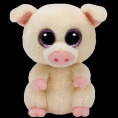"""Ty Beanie Boos are the cutest collectable plush friends in the world. There is a Beanie Boo friend for everyone. Inside tag: """"I like to roll, hop and play When all my friends jump in the hay!"""" Approxi"""
