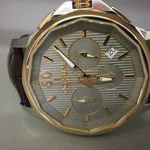 Corum Admirals Cup Legend 42 Chronograph 18k Rose & S/s Grey...