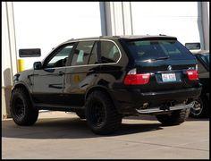 BMW X5: Lifted