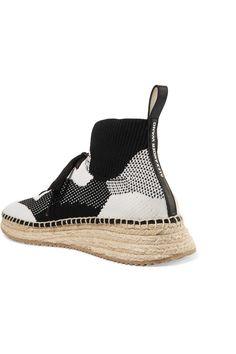 low priced f4100 d9db3 Alexander Wang   Dakota stretch-knit Knit Shoes, Men s Sneakers, Espadrille  Sneakers,