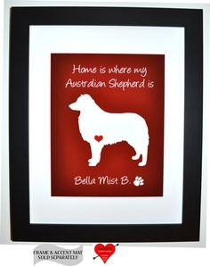 custom pet portrait, ANY personalized dog silhouette pet lover gifts dog owner unique presents
