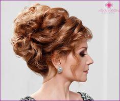 Prehľad účesy pre matku nevesty v krátkodobom, strednodobom a dlhé vlasy - Foto