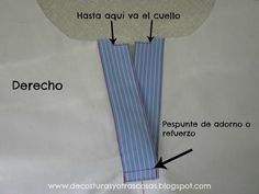 Blog sobre técnicas de costura con muchos tutoriales paso a paso. Dress Tutorials, Sewing Tutorials, Sewing Hacks, Sewing Crafts, Sewing Projects, Sewing Patterns, Purple Ladybugs, Sewing Collars, Couture Sewing Techniques