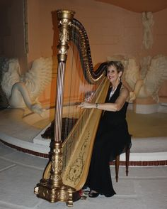 Mar-a-Lago in Palm Beach is an extraordinary venue for your wedding with harpist Esther Underhay. @theelegantharp #harpmusic #specialevent #southflorida #palmbeachwedding