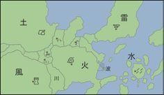 Ninja World - Naruto map