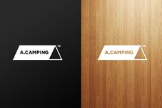 A.CAMPING logo renewal by Jung Young Lee, via Behance