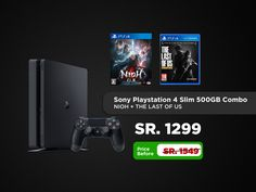 The Sony PlayStation 4 takes you on awe inspiring journeys, from award winning AAA hits to critically acclaimed indies. Buy Playstation, Playstation Consoles, Cod Black Ops 3, Normal Models, Far Cry Primal, Fifa 17, Battlefield 1, Call Of Duty Black, Saudi Arabia