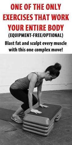 Blast fat and sculpt every muscle with this one complex move! #fitness #workout #fullbodyworkout #bodyweight #blastfat