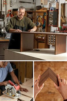 Woodworking tips and techniques from veteran woodworkers. Read more: http://www.familyhandyman.com/woodworking/tips