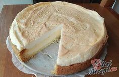 Famózní tvarohový dort s bílkovou pěnou na vrchu. Fantazie! Autor: Triniti