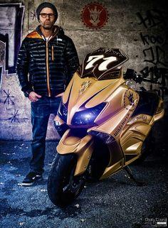 Yamaha TMax de Walz