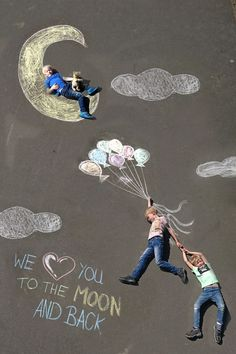 Chalk Photo Father& Day woman Practically Chalk Art chalk art sidewalk chalk woman Photo Practically Fathers Day to Chalk Photography, Chalk Photos, Art For Kids, Crafts For Kids, Sidewalk Chalk Art, Chalk Drawings, Fathers Day Crafts, Chalkboard Art, Art Pictures