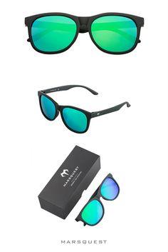 Sunglasses for Men, Women & Kids Wayfarer Sunglasses, Polarized Sunglasses, Mirrored Sunglasses, Black Neon, Neon Green, Carbon Black, Face Shapes, Lenses, Shop Now