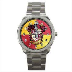 Harry Potter Gryffindor Hogwarts School Quality Sport Metal Wrist Watch Gift D03