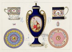 Sèvres Porcelain illustration.
