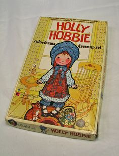 Vintage Holly Hobbie Colorforms Dress Up Set by ConsiderMeCharmed, $7.00
