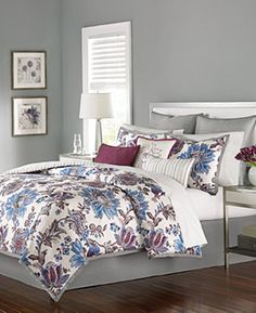 Martha Stewart Collection Austen 9-Pc. Comforter Sets - Bedding Collections - Bed & Bath - Macy's