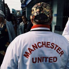 On matchdays, fans travel across the city to make their way to Old Trafford or local pubs showing the game. This photo originally appeared on the @WeAreMCR Instagram account and was taken by @idocreativestuff.