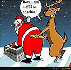 Funny fat santa cartoon for this Christmas Christmas Eve Meme, Funny Christmas Images, Funny Christmas Cartoons, Merry Christmas Funny, Funny Cartoons, Christmas Christmas, Holiday Meme, Christmas Comics, Christmas Sayings