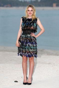 The Front Row - Dakota Fanning in Chanel