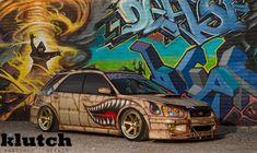 Liberty Walk Cars, Subaru Wagon, Impreza, Wrx Sti, Ride 2, Subaru Outback, Car Posters, Subaru Wrx, Car Tuning