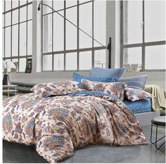 >> Click to Buy << bohemian style sheets sets linens multicolor abstract flowers cotton bedspread Queen Double size quilt cover set bedding sets #Affiliate