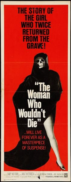 THE WOMAN WHO WOULDN'T DIE aka CATACOMBS 1966