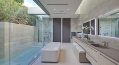 Tanager, a private residence in California by McClean Design via @. HomeDSGN .