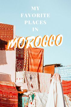My favorite places in Morocco - Best cities in Morocco - Morocco Travel Guide - Top places to see in Morocco #morocco #travel #africa #sahara #marrakech #nohurrytogethome #marrakesh