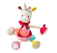 Louise Cuddly Activity Unicorn | Lilliputiens