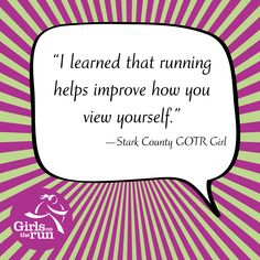 Running helps improve how you view yourself. #GOTRtruth #LimitlessPotential http://gotrstarkcty.org