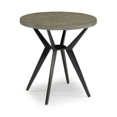 DwellStudio Odin Grey Shagreen Side Table | DwellStudio