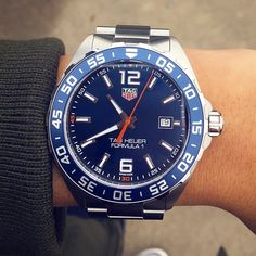 TAG Heuer Formula 1 by @calvin_babe #tagheuer #tagheuerformula1 #formula1 #calibre11