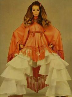 Veruschka, Linea Italiana, 1969Photographer: Franco RubartelliValentino, Spring 1969 Couture