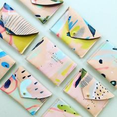 GIVEAWAYOur new Stardust Collection wallets are ready to ship and we're doing a giveaway to celebrate! Tag a friend in the comment section below to enter Details A winner and their tagged friend will be randomly selected and will each receive a. Textures Patterns, Print Patterns, Mark Making, Textile Design, Surface Design, Pattern Design, Arts And Crafts, Artsy, Hand Painted
