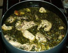 Курица в молоке с сыром и шафраном - кухня Имерети