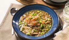 Soupe de saumon et nouilles - Salmon and Noodle Soup