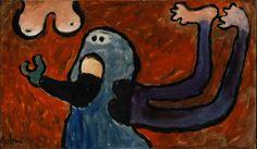 Exposition Art Blog: COBRA avant-garde art Eugène Brands