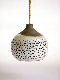 ceramic lamp, design squish blog. Could so do this and it would be great in our future home.