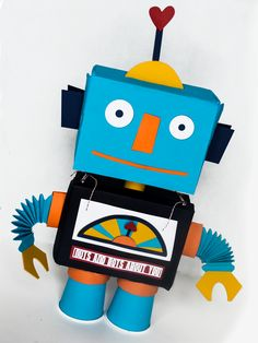 Cute tutorial about creating this great Robot Valentine Holder.  :)  LD Solutions: tips