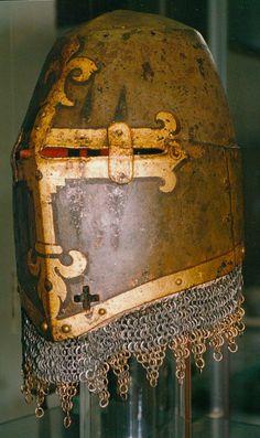 Helmet of Hans Rieter to Kornburg, Nuremberg, mid-14th Century; Germanic National Museum in Nuremberg